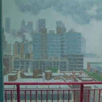 Snow Squall South of Bleecker <br>Collection Jean-Louis Bourgeois