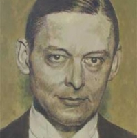 Portrait of T.S. Eliot <br> Private collection