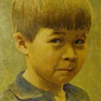 Chase at Three 1980 <br> Private collection