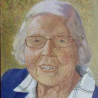 Julia at 97 <br> Private collection