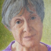 Portrait of Amelia Hagan <br> Private collection