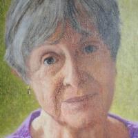 Portrait of Amelia Hagan <br> Private collection