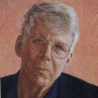 Portrait of Don Bacon <br> Private collection